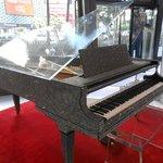 Liberace's rinestone piano