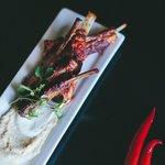 Harissa spiced Cardrona Merino lamb ribs