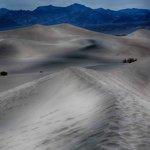 Surrealistic treatment of sand dunes