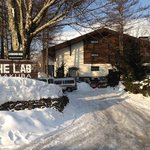 Lab from the street