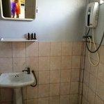 Inside the bathroom - very basic