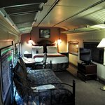 One of our rooms on the train