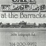 Cafe Telegraph. Nearest Restaurant to Museum.  2 min. west of Museum.