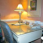 Desk/office area of king suite
