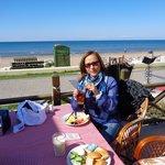 Desayuno en playa