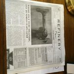 Newspaper with info on the Hotel and local activity suggestions