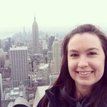 The Empire State Building behind me