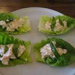 Appetiser-Devilled crab & cos lettuce