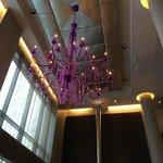 Hotel Lobby.