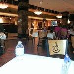 Lobby, dining area