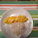 mango slice rice, un délice!