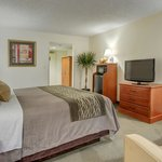 Our Executive King rooms have microwaves and refrigerators