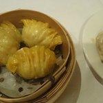 Shark & pork dumplings