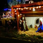 Sainton exhibit: Nativity scene