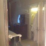 Mirror as you walk into room