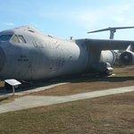 Outside aircraft