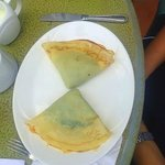 Spinach Crepe