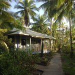 One of the cute bungalows in the garden