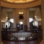 Under the Rotunda, Old State Capitol, Springfield, IL
