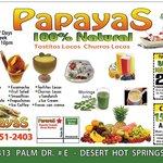 Foto de Papayas 100% Natural