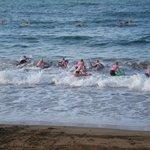Juniors training at the Burnie Surf Club
