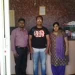 Ramesh, myself and his wife