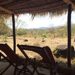 View from the Bamboo Lodge (dry season)