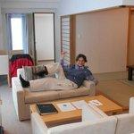 Premium suite living room.