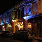 Jalan Selangor at night