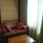 sitting area - sofa bed