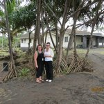 Marylou on the left with Kath near Hilo