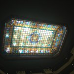 Backlighted Stained Glass Skylight
