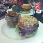 Burger bœuf et fois gras: un délice !