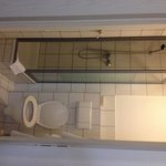 Banheiro apertado