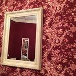 Liebevolle Dekoration im Zimmer 107...