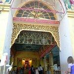 entrance to Botatung Pagoda