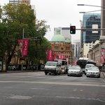 George Street, 2 min zu Fuß vom Hotel