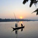 Sonnenaufgang, Backwaters