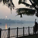 Yoga bei Sonnenaufgang, Backwaters