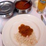 Chicken Dansak main course