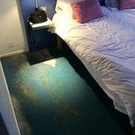 tapis délavé