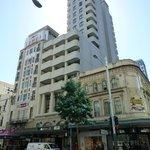 Der Turm ist das Hotel