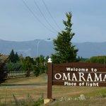 Ortseingang Omarama