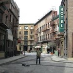 The back lot of Warner Brothers