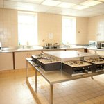 large self catering communal kitchen