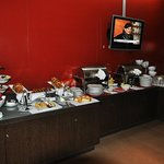 Buffet del desayuno
