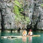Bamboo Raft Ride