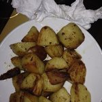 Skillet potatos again simple but very good, hit the spot since the other place was closed it was
