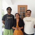 With Reena and Sunil