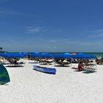 Plenty of beach area awaits!